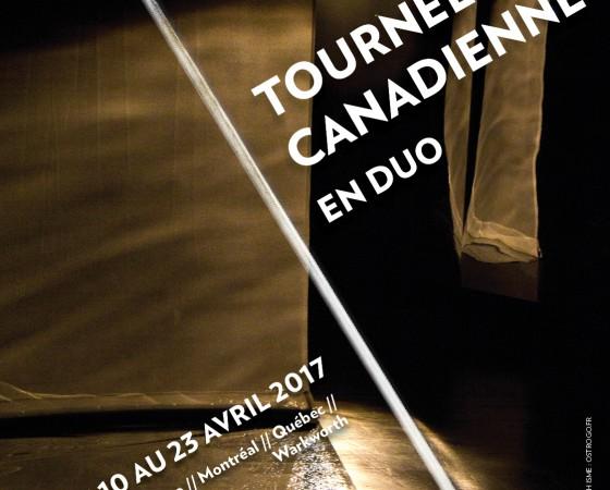 TOURNEE AU CANADA EN DUO